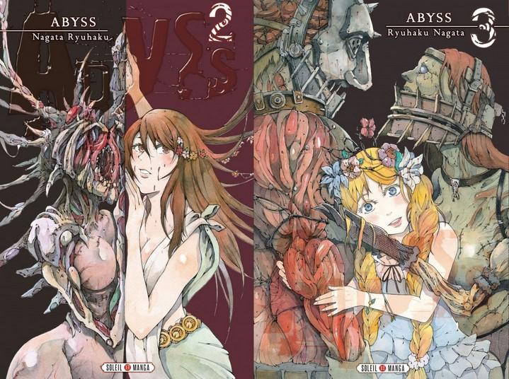 image couverture abyss tome 2 tome 3 ryuhaku nagata soleil manga