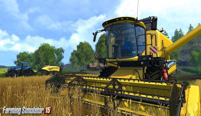 image ps4 farming simulator 2015