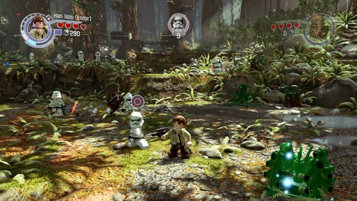 image gameplay lego star wars le reveil de la force