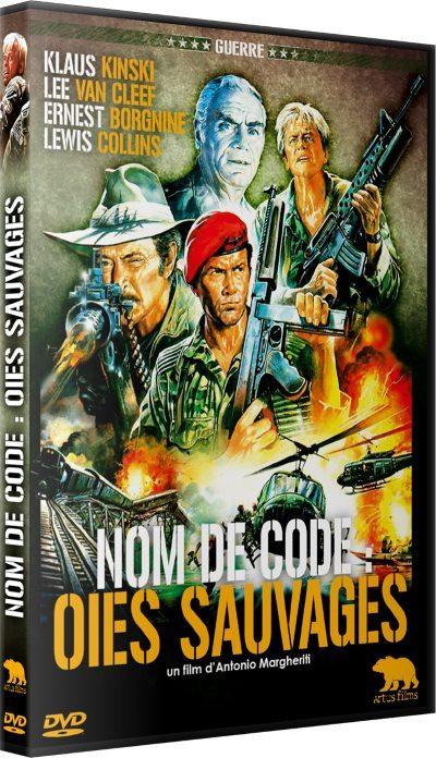 image dvd nom de code oies sauvages