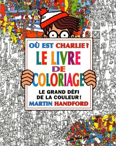 critique o est charlie le livre de coloriage martin handford. Black Bedroom Furniture Sets. Home Design Ideas