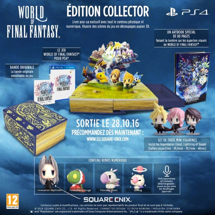 image collector world of final fantasy