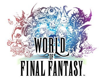 image logo world of final fantasy