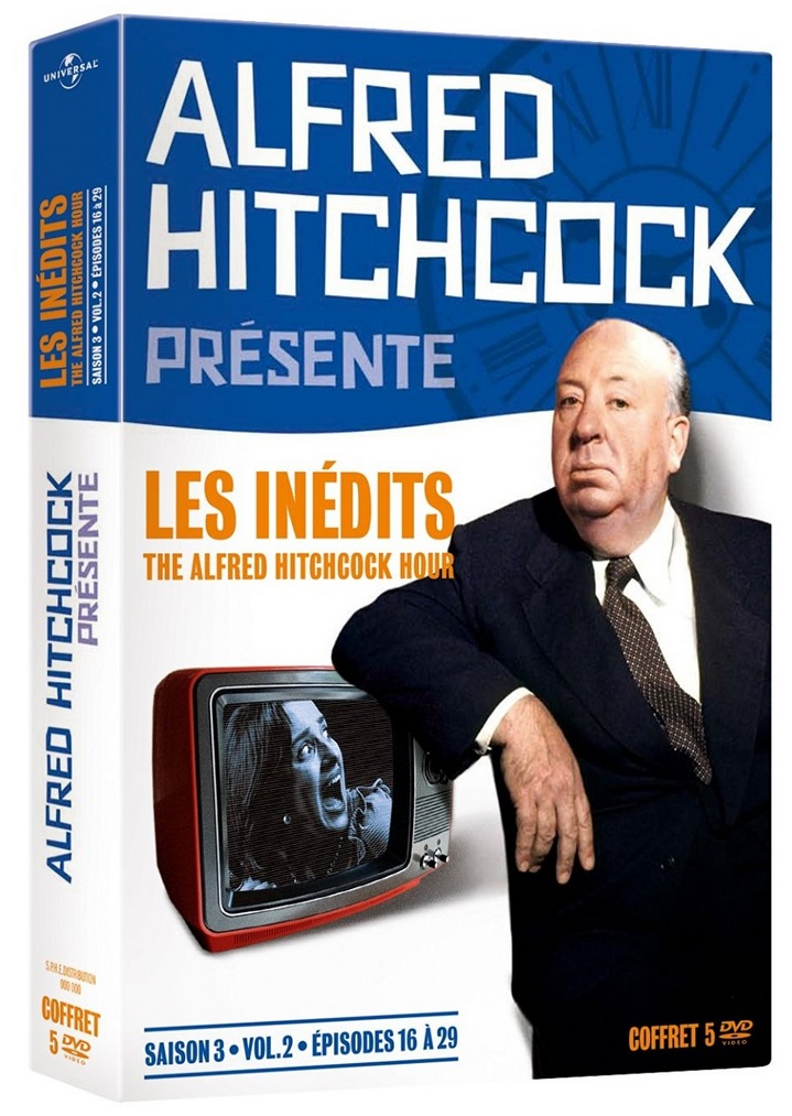 [Concours] Gagnez 3 coffrets DVD d'Alfred Hitchcock Présente : Les inédits, saison 3, volume 2