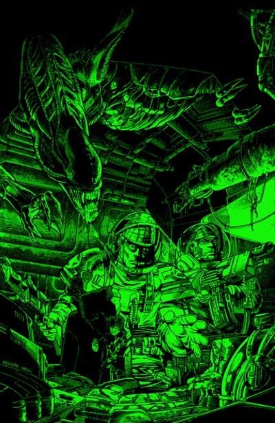 image poster aliens serie originale