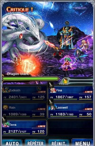 [News – Jeu vidéo] Final Fantasy Brave Exvius est sorti sur une nouvelle plateforme
