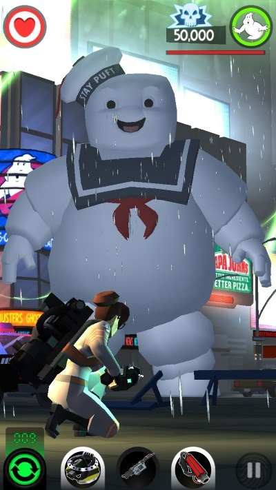 image gameplay ghostbusters slime city
