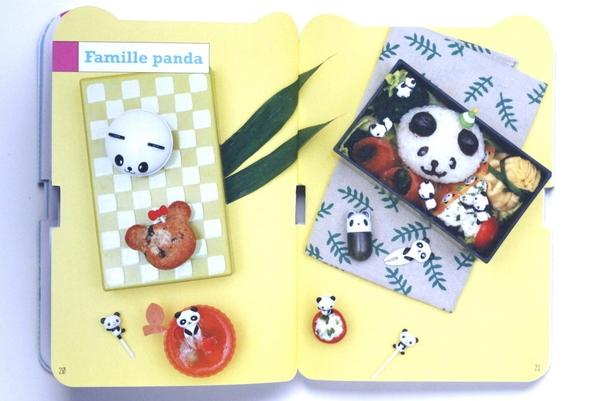 image famille panda kawaii recettes japonaises trop mignonnes laure kié