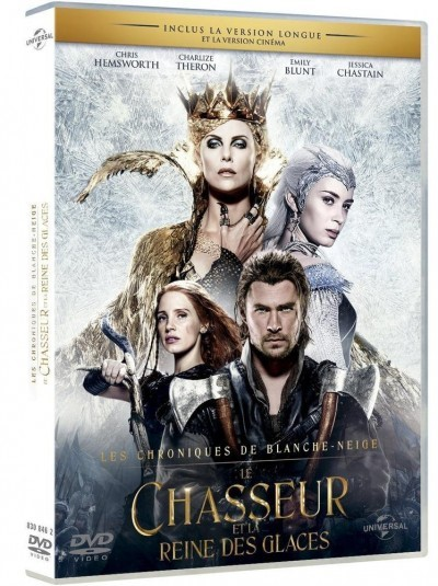 image dvd le chasseur et la reine des glaces universal pictures
