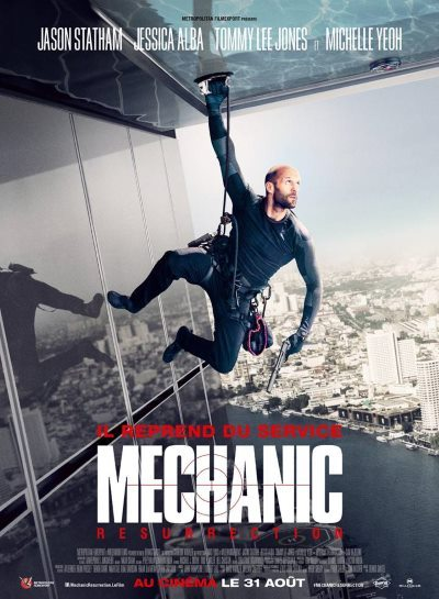 image affiche mechanic resurrection
