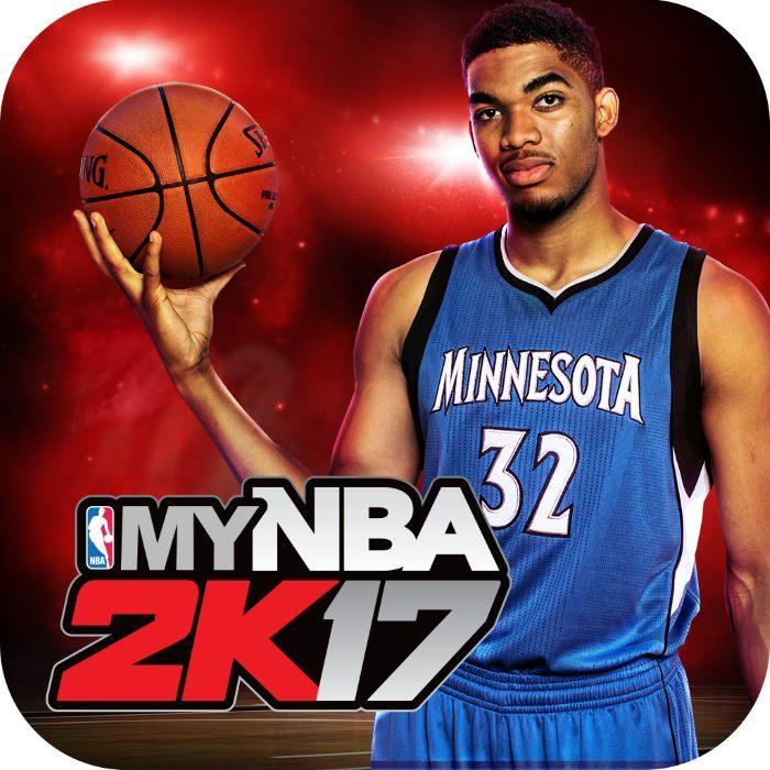[News – Jeu vidéo] MyNBA2K17 : Karl-Anthony Towns représenté sur l'icône de l'application