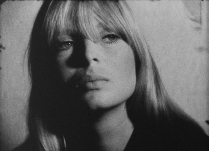 image screen test de nico pour la factory de andy warhol