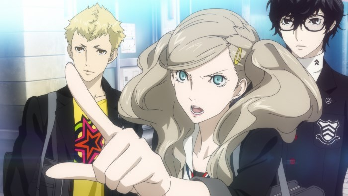 image personnage persona 5