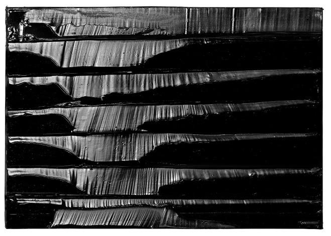 image toile pierre soulages 57x81cm 9 mars 2014
