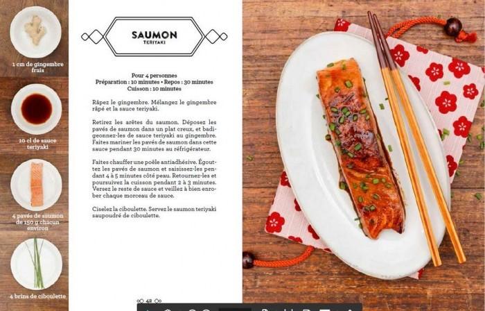image saumon teriyaki le japon en 4 ingrédients laure kié
