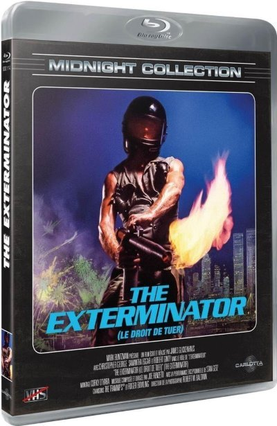 [Test – Blu-Ray] Exterminator – James Glickenhaus