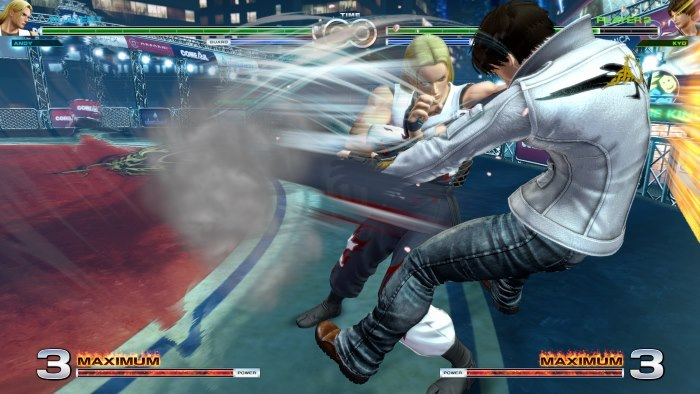 image gameplay the king of fighters 14