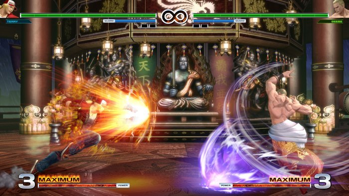 image playstation 4 the king of fighters 14