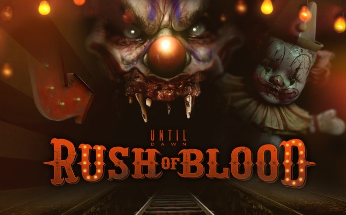 [Preview] Until Dawn Rush of Blood : une future décharge d'adrénaline