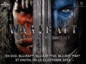 [News – DVD/Blu-Ray/4K] Warcraft : Le Commencement chez vous c'est pour le 11 octobre 2016