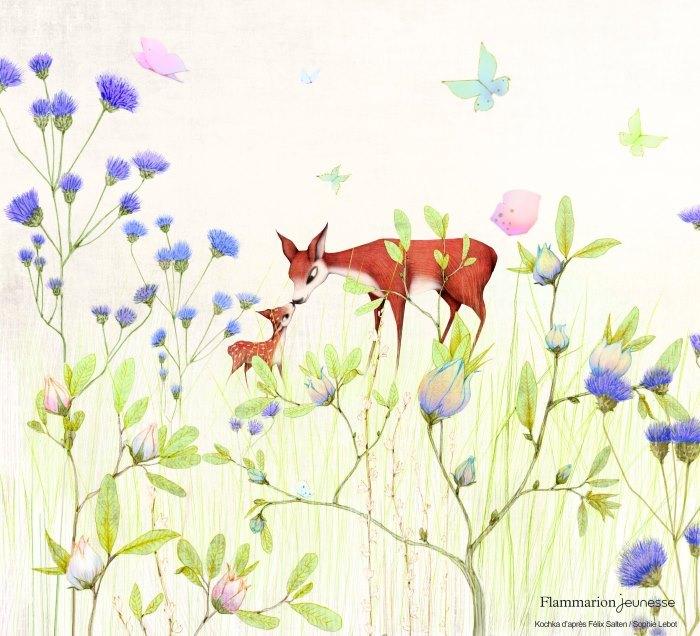 image flammarion jeunesse bambi