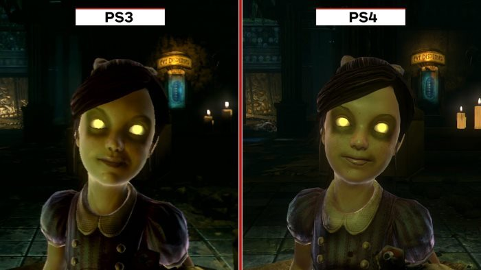 image comparaison bioshock the collection