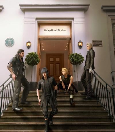 [News – Jeu vidéo] Final Fantasy 15 : en route pour les Abbey Road Studios