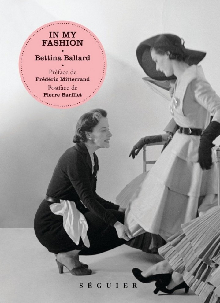 image couverture in my fashion bettina ballard éditions seguier