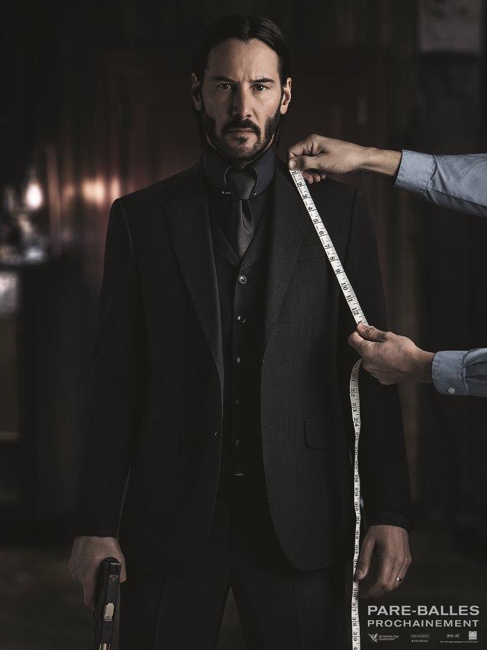 [News – Cinéma] John Wick 2 : Keanu Reaves pète la classe dans son nouveau costume