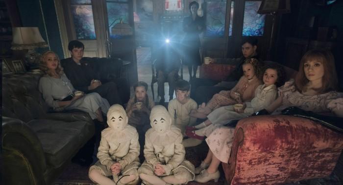 image cast cinéma miss pérégrine et les enfants particuliers tim burton