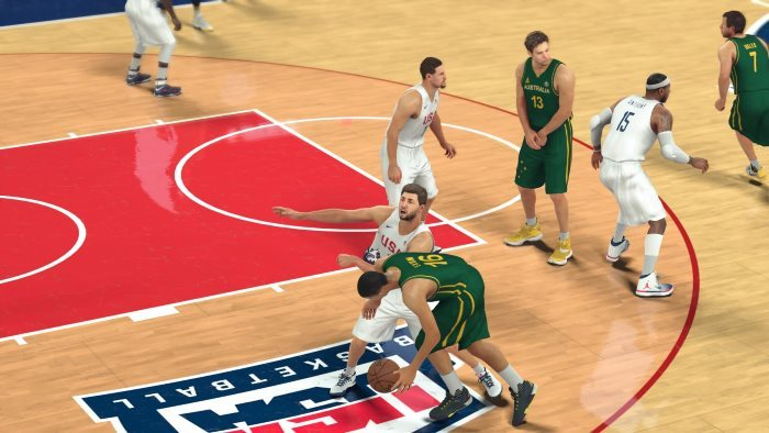 image team usa nba 2k17