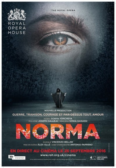 image affiche norma royal opera house live