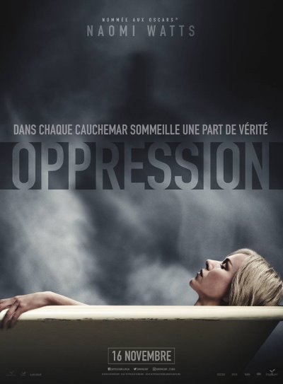 image affiche oppression