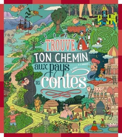 image couverture trouve ton chemin au pays des contes b.g. hennessy marie caudry éditions milan