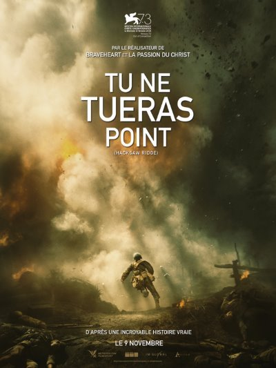 image affiche tu ne tueras point