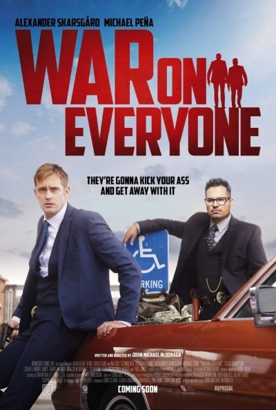 image affiche war on everyone