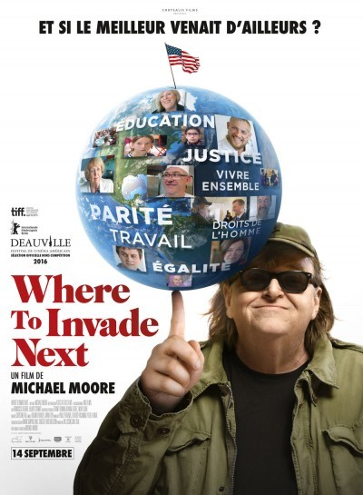image affiche where to invade next michael moore