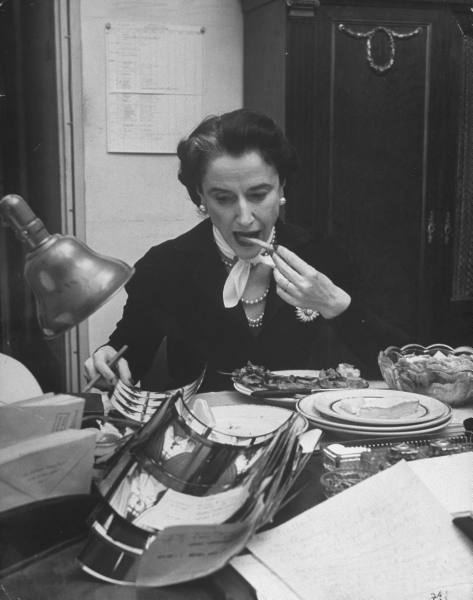 image bettina ballard février 1951 in my fashion