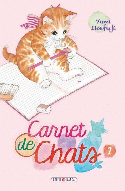 image tome 1 carnet de chats