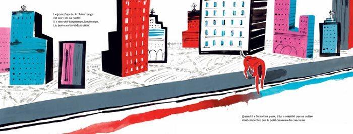 image gallimard jeunesse chien des villes