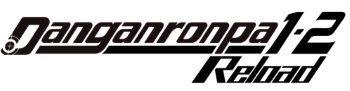 image logo dangonronpa 1 2 reload