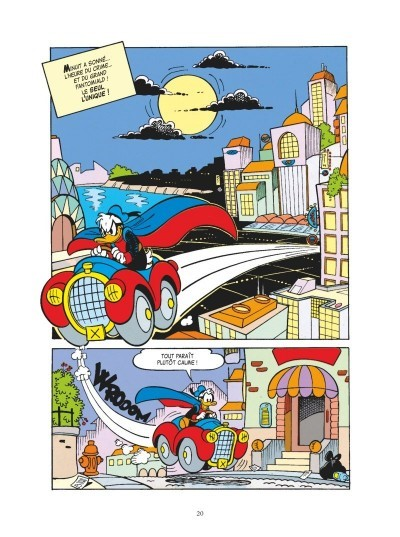 image planche fantomiald tome 3 éditions glénat