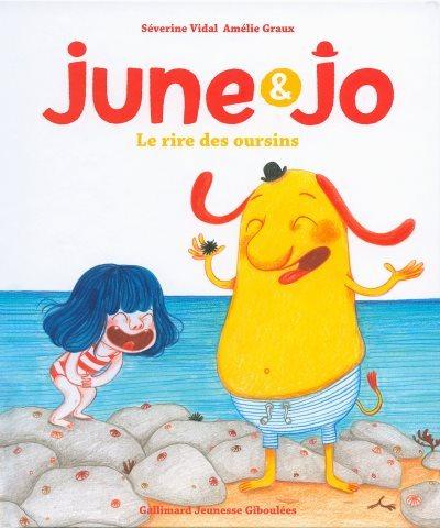 [Critique] June et Jo : le rire des oursins – Séverine Vidal et Amélie Graux