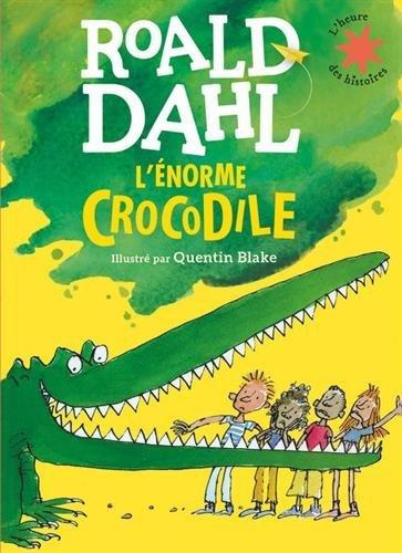 image couverture l'énorme crocodile roald dahl gallimard jeunesse