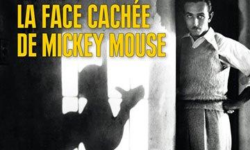 image gros plan couverture la face cachée de mickey mouse éditions vendémiaire