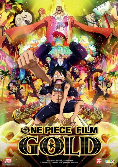 image affiche one piece gold