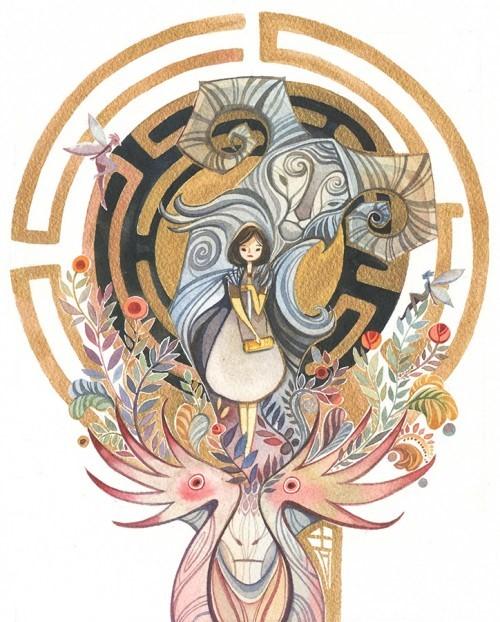 image alina chau pan's labyrinth geek-art volume 3