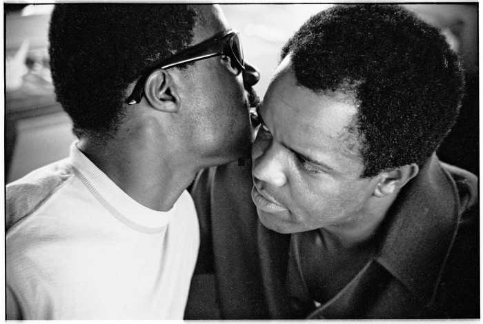 image stevie wonder avec berry gordy motown