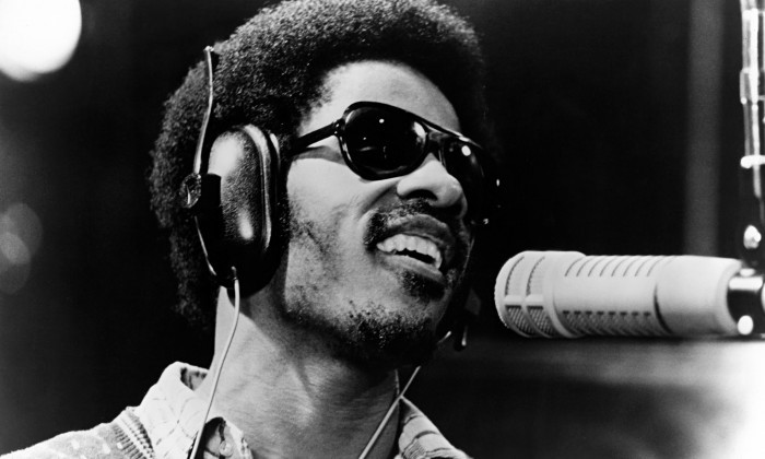 image motown stevie wonder en studio