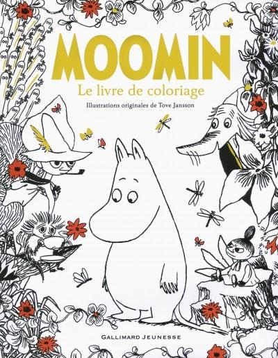 [Critique] Moomin : Le livre de coloriage — Tove Jansson